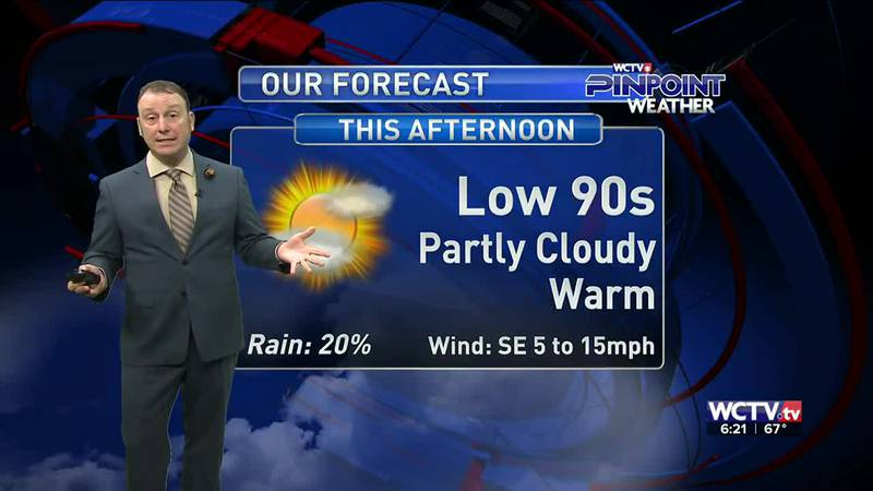 Meteorologist Rob Nucatola gives you the forecast for Tuesday, June 1, 2021.