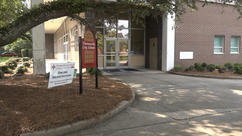 Thomasville City Schools held a School Board meeting Wednesday night to discuss business plans...