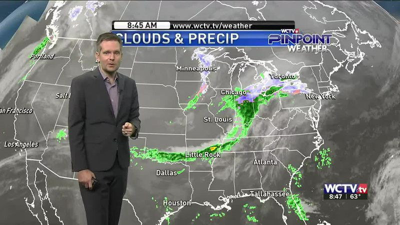 Another cold front is on the way, but will it be enough to cool us off? Meteorologist Charles...
