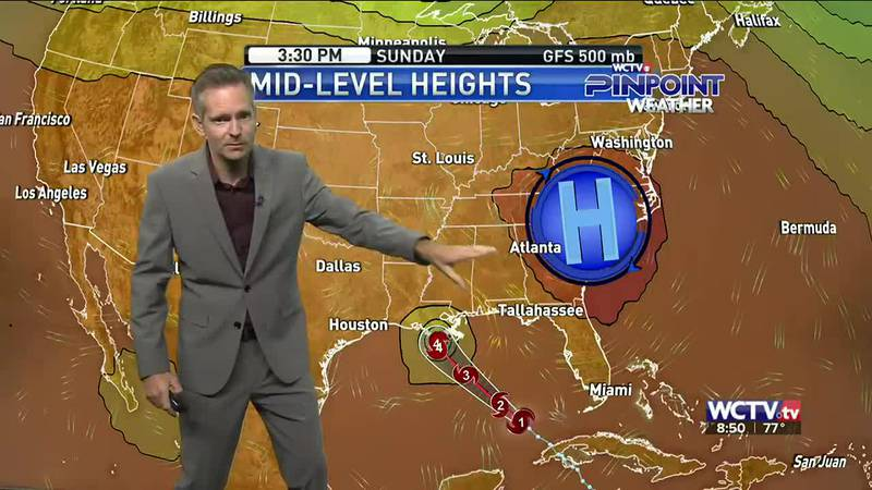 Rain chances stick for Saturday afternoon and evening. Meteorologist Charles Roop has the...