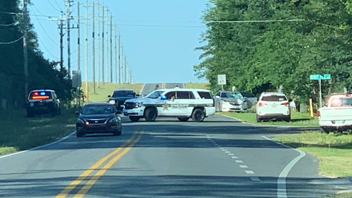 The crash happened on Springhill Road near Windy Pine Way around 6 a.m. Monday, according to...