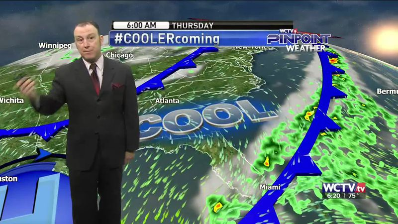 Meteorologist Rob Nucatola gives you the forecast for Tuesday, Sept. 29, 2020.