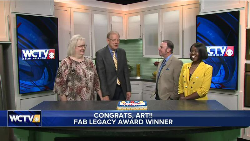 Art surprised with the 2021 FAB Legacy Award