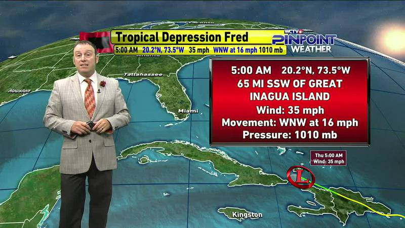 Meteorologist Rob Nucatola gives you the forecast for Thursday, August 12, 2021.