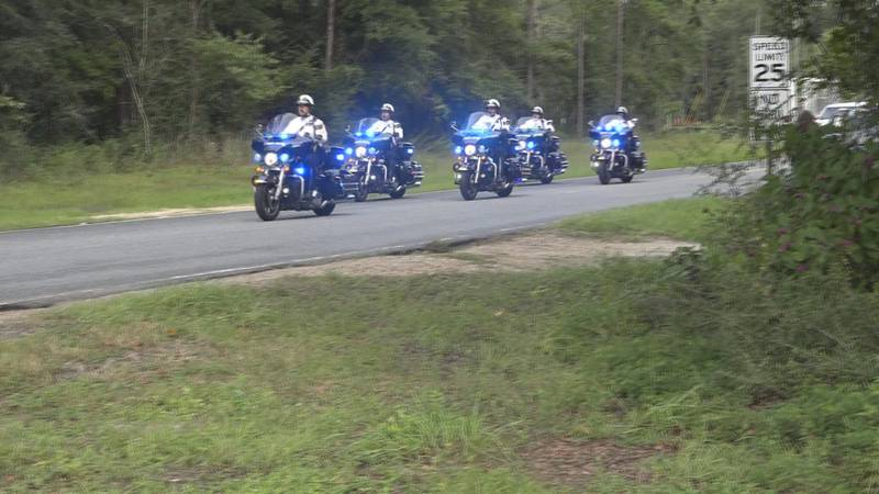 Starting at the intersection on Songbird Avenue and Crawfordville Road, dozens gathered for a...