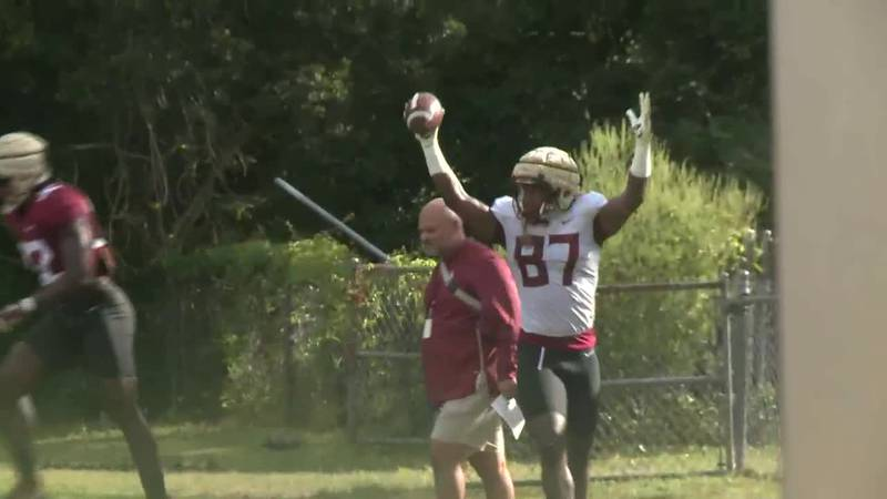 Sights and Sounds from FSU camp