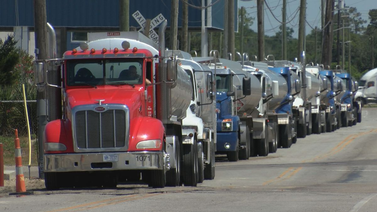 The Colonial Pipeline became fully operational at 12 p.m. Thursday, and tuck drivers in North...