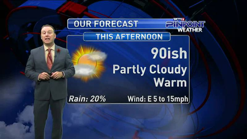 Meteorologist Rob Nucatola gives you the forecast for Thursday, Sept. 30, 2021.