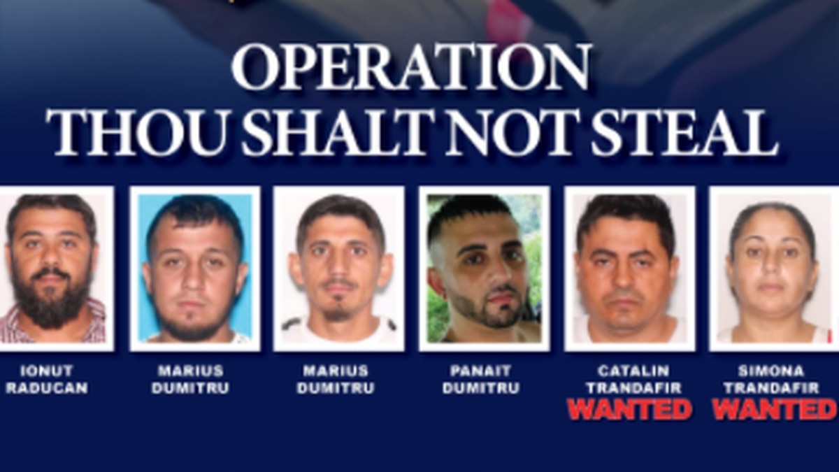 According to the Florida Department of Law Enforcement, a group of Romanian Nationals stole...