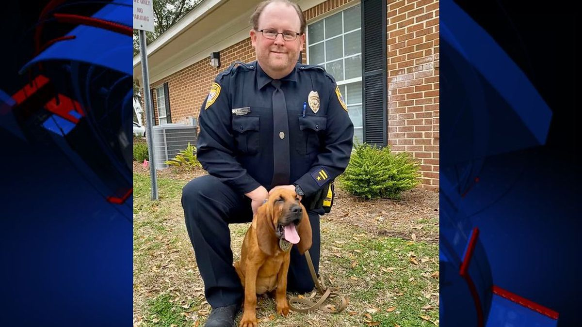 The group Scent Evidence K-9 donated the puppy, whose name is Jon Jon, to the Capital City's police force. (Photo: Tallahassee Police Department)