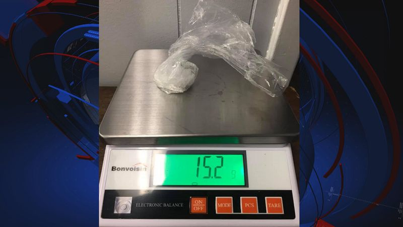 One man has been arrested for crystal methamphetamine trafficking in Liberty County.