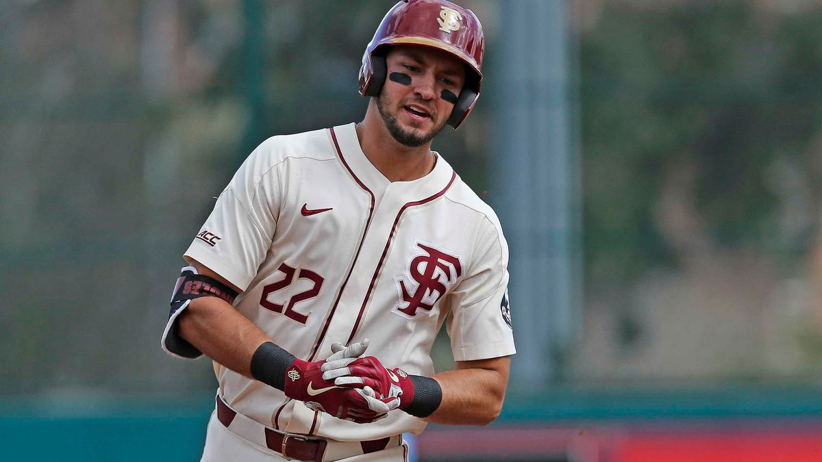 February 23, 2019.  Youngstown State at Florida State baseball.  Dick Howser Stadium Tallahassee, Florida, USA (Credit Image: Ken Lanese)