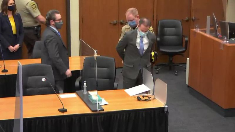 RAW: Derek Chauvin found guilty on all charges in murder of George Floyd