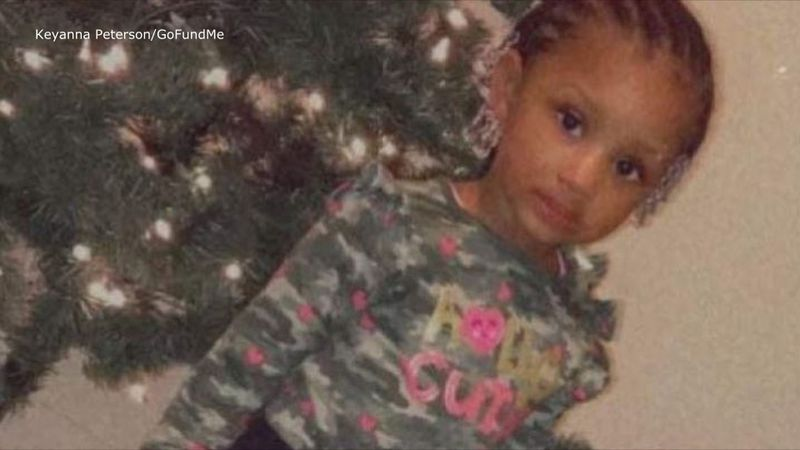 According to a GoFundMe page, two-year-old Jhada Peterson was the victim in a New Year's Eve...