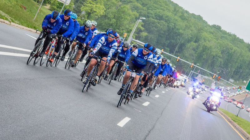 A renowned bicycle ride to honor fallen members of law enforcement is kicking off on Monday.