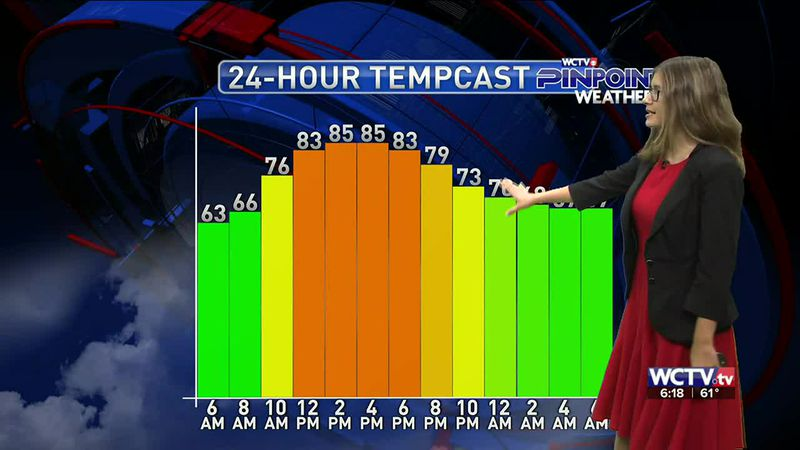 Meteorologist Hannah Messier gives you the forecast for Thursday, April 29, 2021.