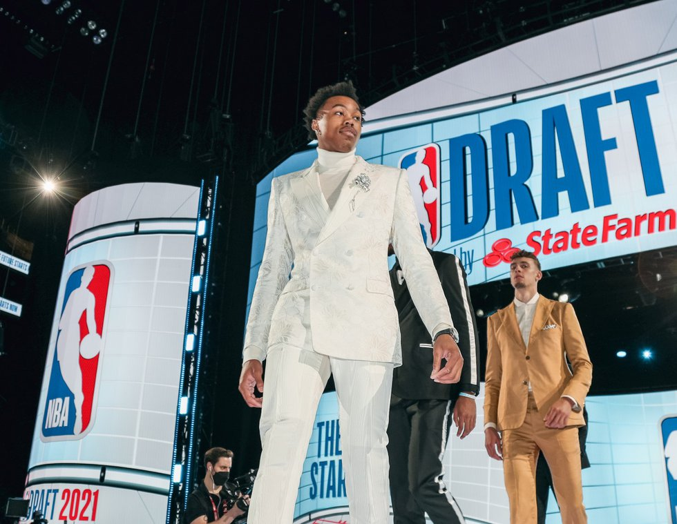 Scottie Barnes was selected fourth overall by the Toronto Raptors in the 2021 NBA Draft