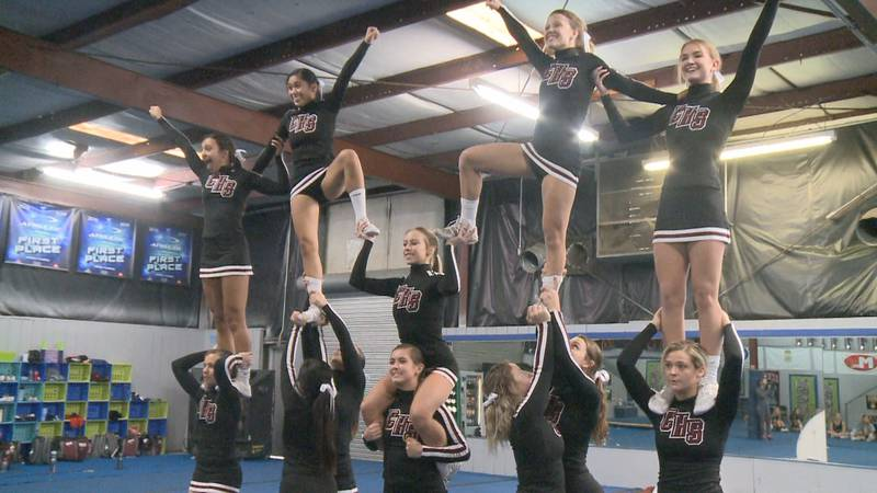 The Chiles cheerleading team is one of three Tallahassee teams getting ready to head to this...