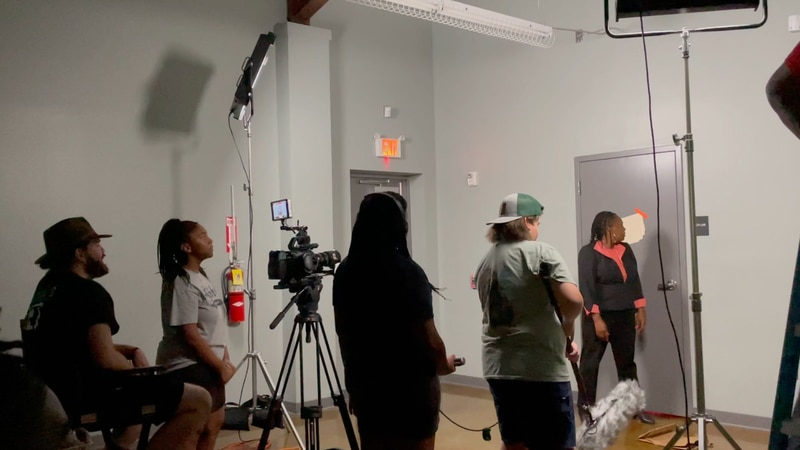 Film Summer Camp in Brooks County's Boys and Girls Club.