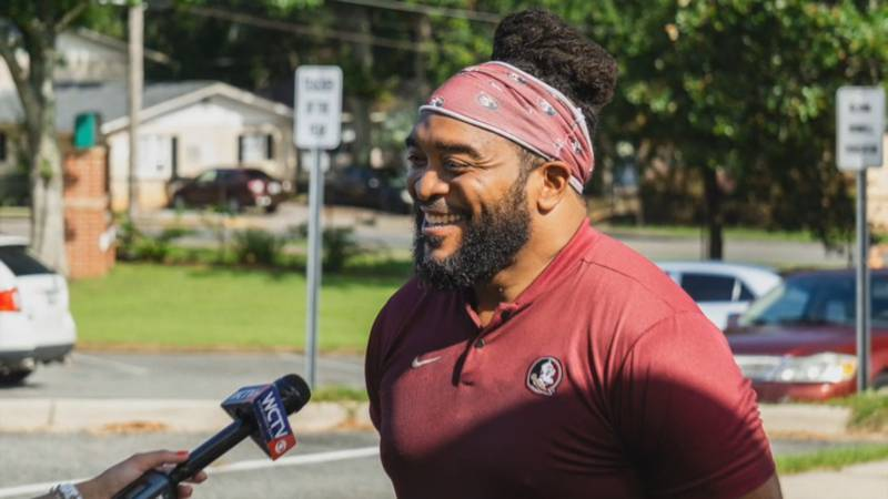 Florida High alum and former New Orleans Saint James Coleman is celebrating his birthday by...
