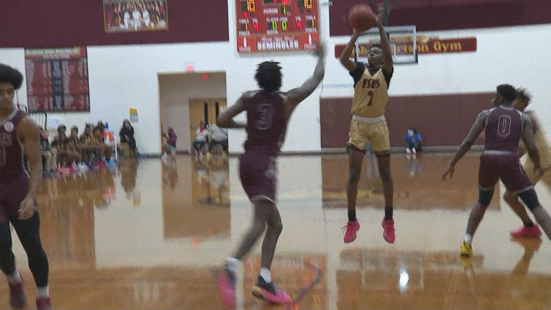 The Florida High Seminoles boys basketball team defeated nationally ranked West Oaks Academy,...