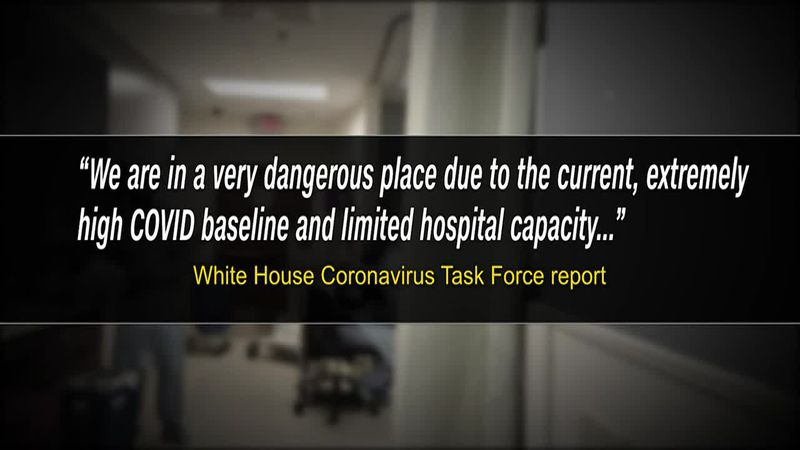 The week after Thanksgiving, the warning from the White House coronavirus task force is grim....