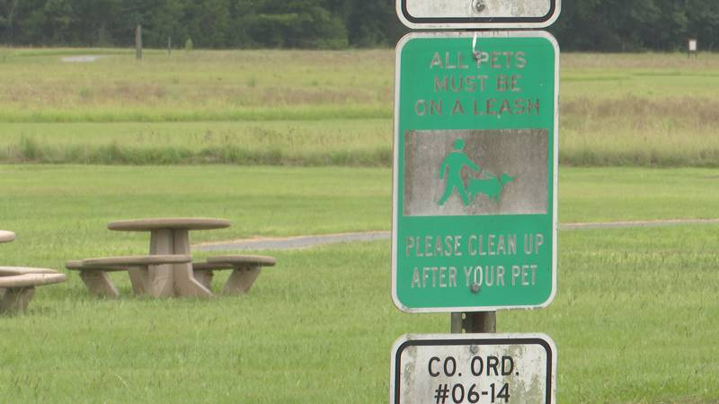As of right now, all parks in Jackson County require pets to be on a leash at all times. The...