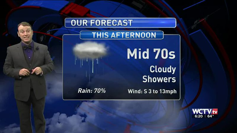 Meteorologist Rob Nucatola says to expect a soggy Valentine's Day weekend.