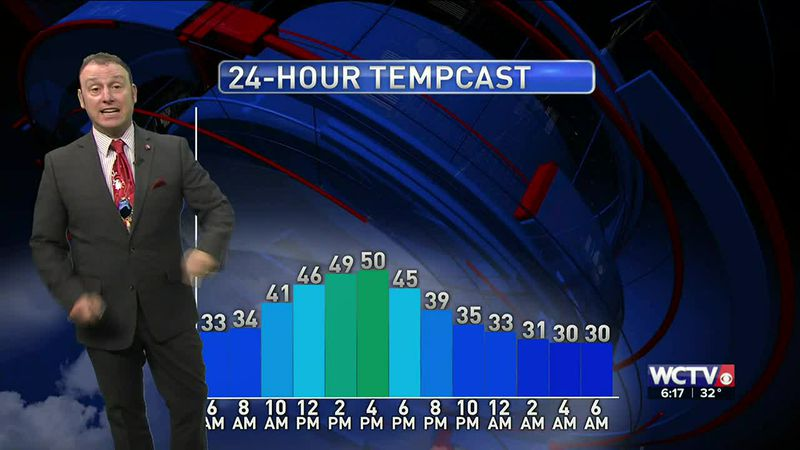 Meteorologist Rob Nucatola gives you the forecast for Tuesday, Dec. 1, 2020.