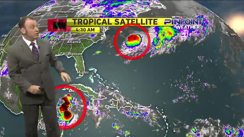 Meteorologist Rob Nucatola gives you the forecast for Wednesday, Sept. 2, 2020.