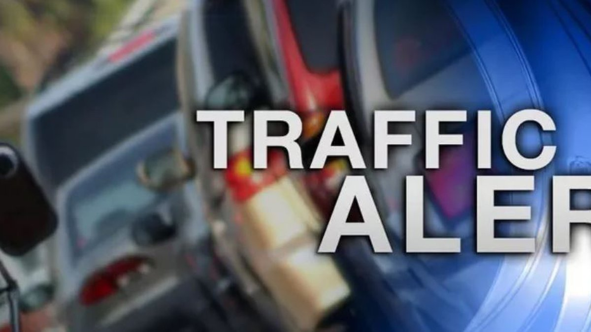All lanes of traffic are blocked at US-231 Northbound Near City Square Road in Jackson Co. are...