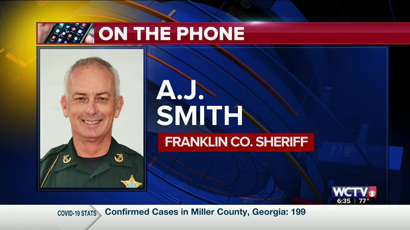 Sheriff AJ Smith on the rip current risk in Franklin Co