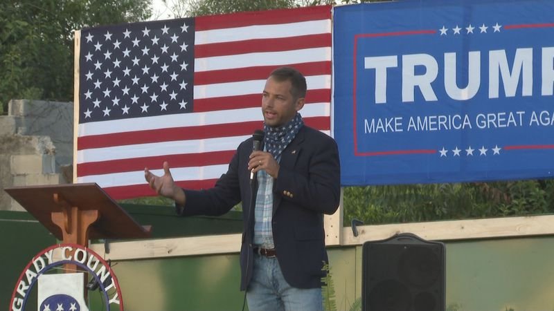 John Pence, the nephew of Vice President Mike Pence, was part of the a Trump campaign stop in...