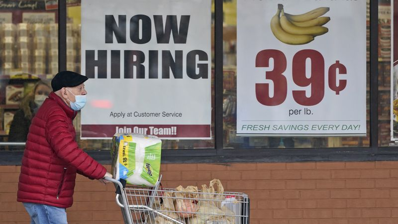 FILE - In this Friday, Jan. 8, 2021 file photo, a man walks out of a Marc's Store in Mayfield...