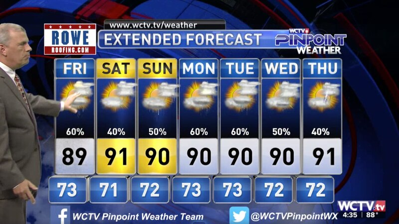 Chief Meteorologist Mike McCall takes a look at the forecast for your evening of Thursday, July...