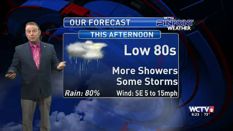 Meteorologist Rob Nucatola gives you the forecast for Wednesday, Oct. 6, 2021.