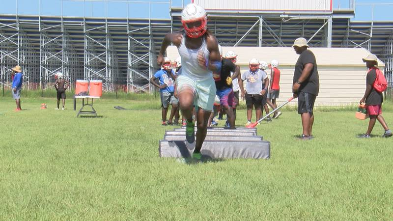 The Mitchell County Eagles are soaring through the off season as they get ready for the season.