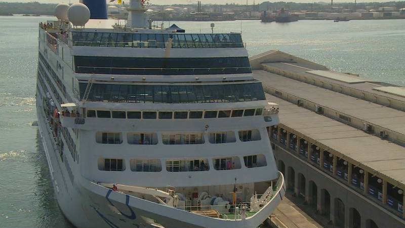 Phil and carol Swartz set sail late last month on the first Celebrity cruise out of Fort...