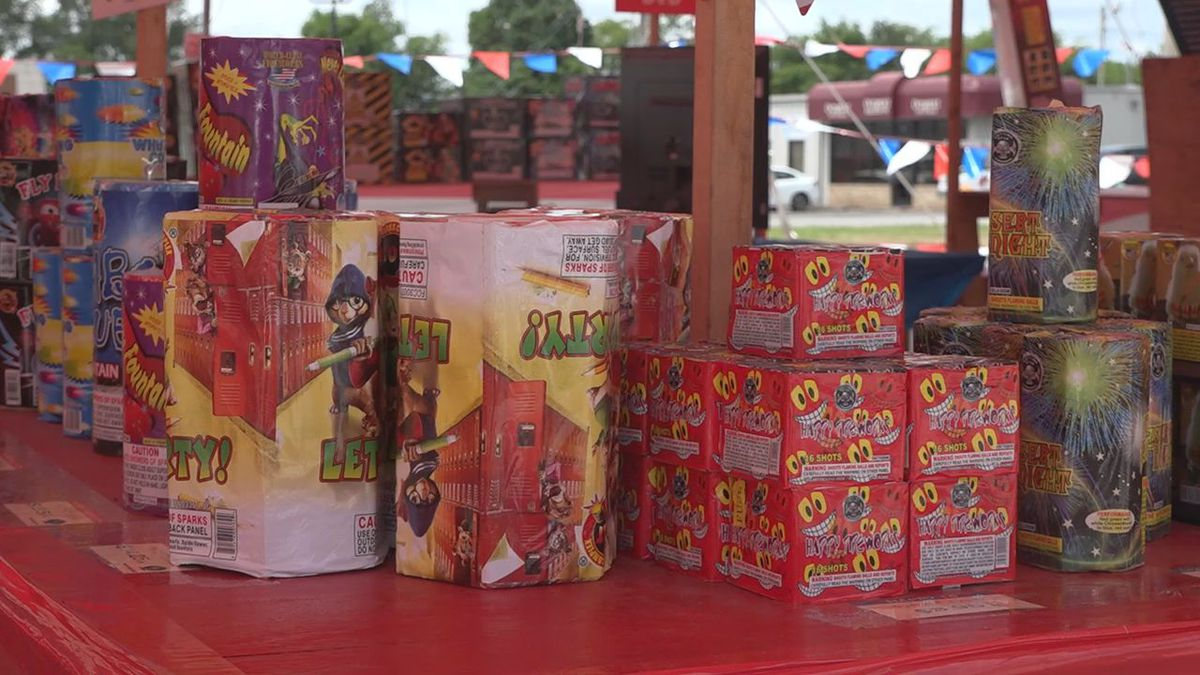 Fireworks stand in Bowling Green
