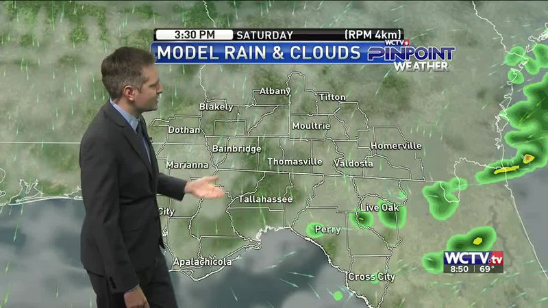 The weekend started with showers, but we will likely see more rain by Monday. Meteorologist...