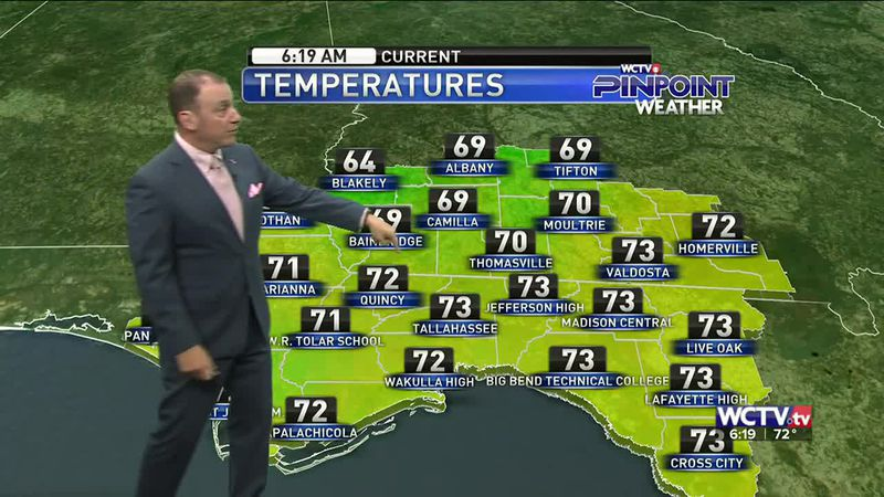 Meteorologist Rob Nucatola gives you the forecast for Wednesday, Oct. 21, 2020.
