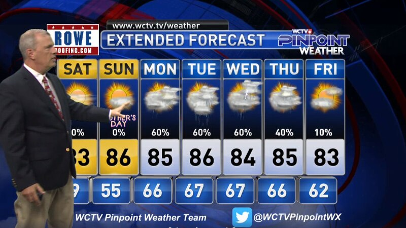 Chief Meteorologist Mike McCall takes a look at the forecast for your evening of Friday, May 7,...