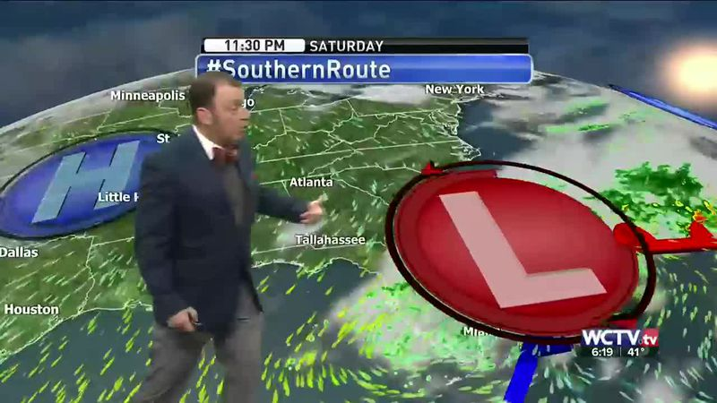 Meteorologist Rob Nucatola gives you the forecast for Friday, March 5, 2021.