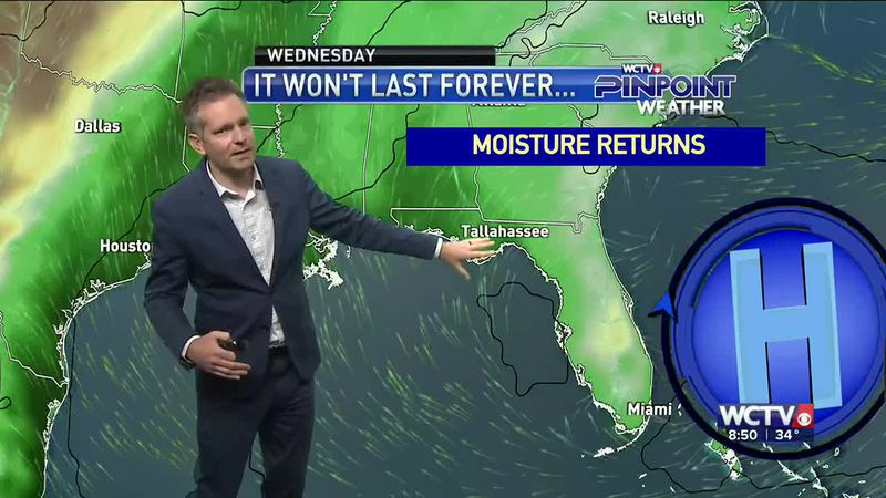 Charles' Pinpoint Weather Forecast - Saturday, April 3