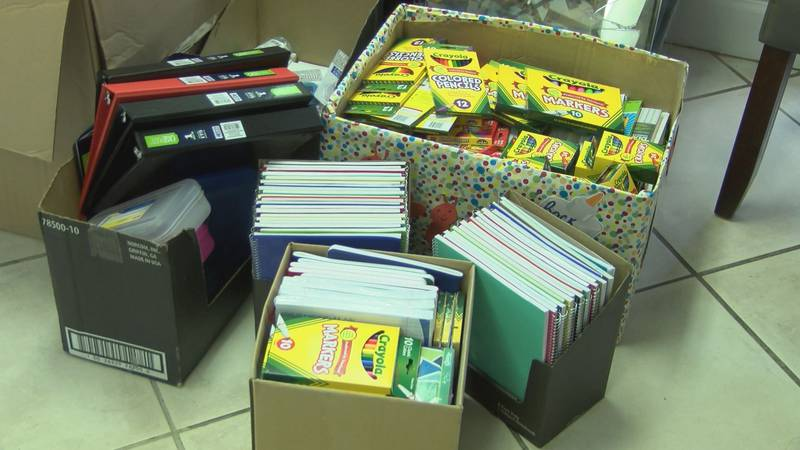 There are several South Georgia school systems that are giving students free supplies ahead of...