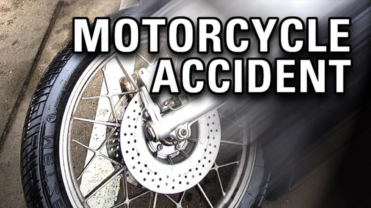 A crash involving a motorcycle and a sedan sent one to the hospital in Wakulla County.