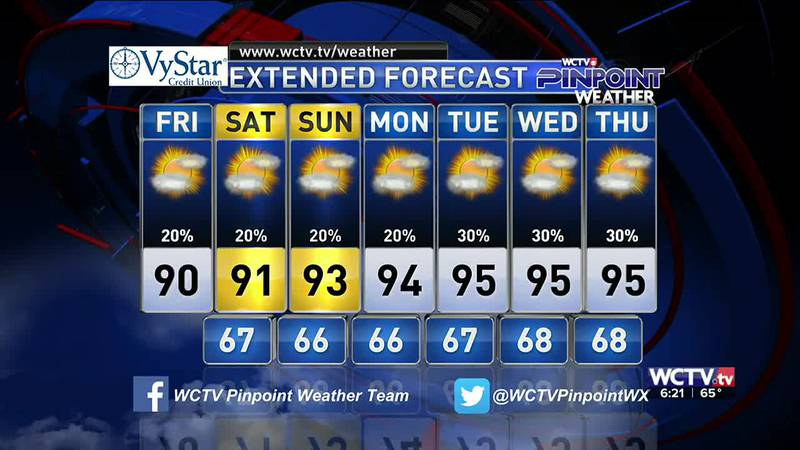 Meteorologist Rob Nucatola gives you the forecast for Friday, May 21, 2021.