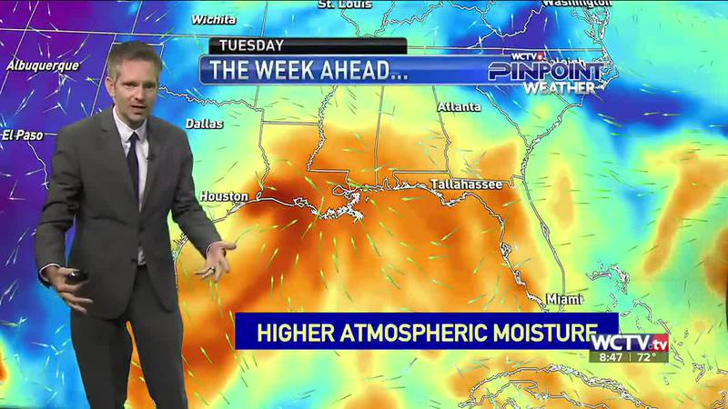 Rain chances will climb by the middle of the work week. Meteorologist Charles Roop has the...