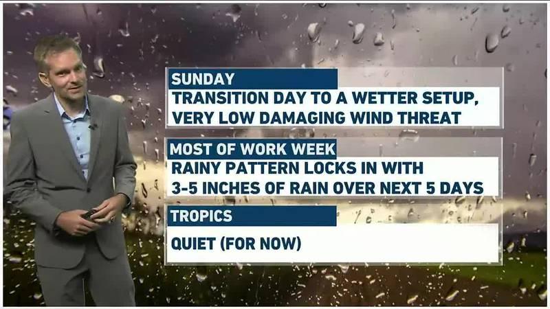Charles' Pinpoint Weather Forecast - Sunday, Aug. 1