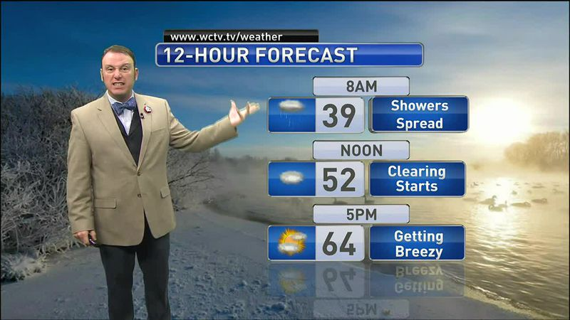Meteorologist Rob Nucatola gives you the forecast for Friday, Jan. 15, 2021.